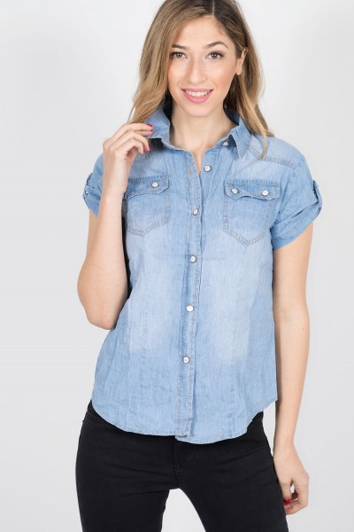 DENIM SHIRT 73431
