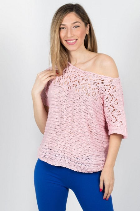 KNITTED BLOUSE 72056 RZ