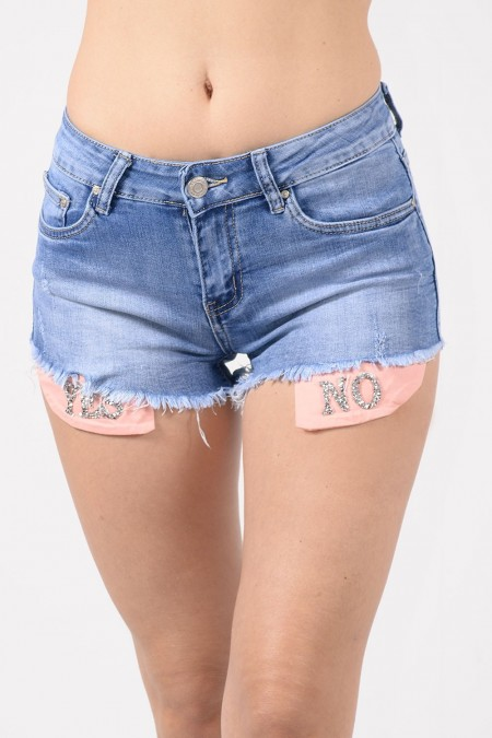 DENIM SHORTS 73446