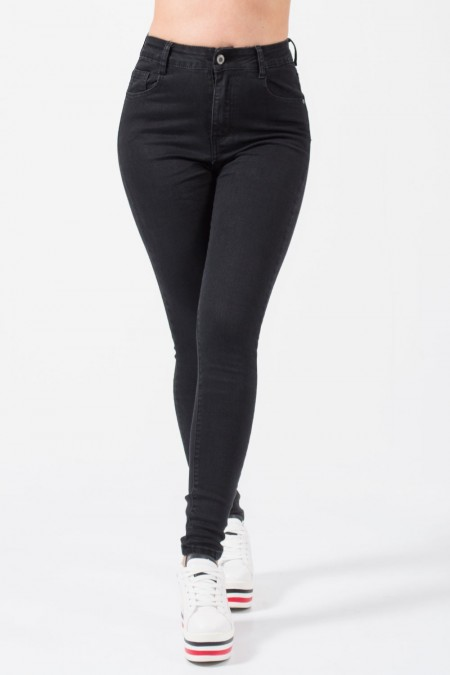 High Waisted Jeans - Black