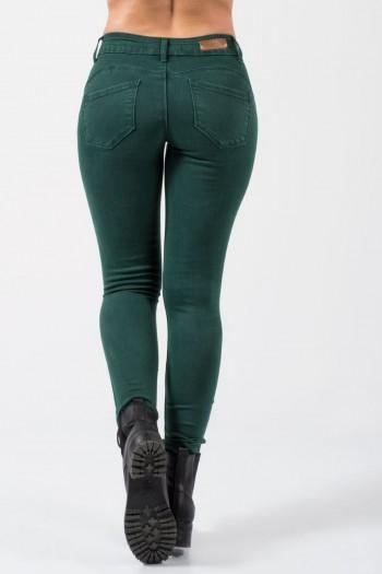 Τζιν Παντελόνι Push Up - Πράσινο