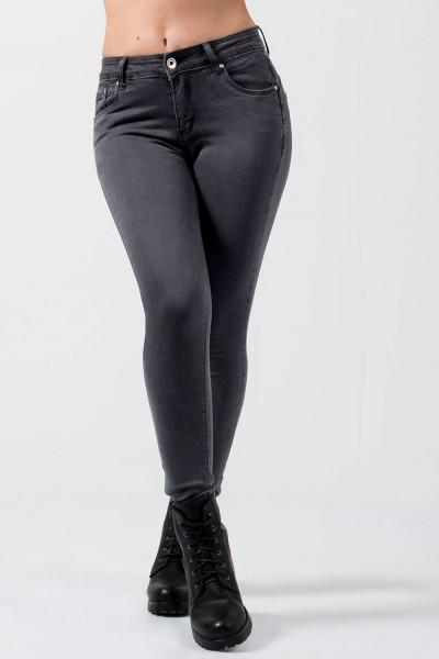 Push Up Denim Jeans - Grey