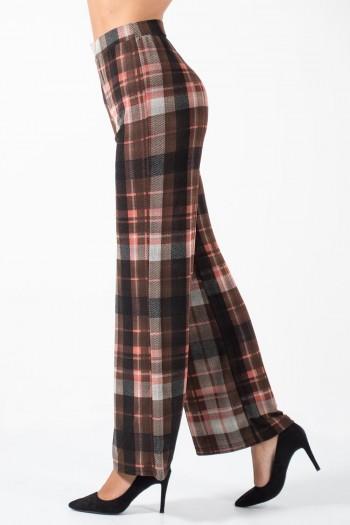Παντελόνα Καρό - Κόκκινο