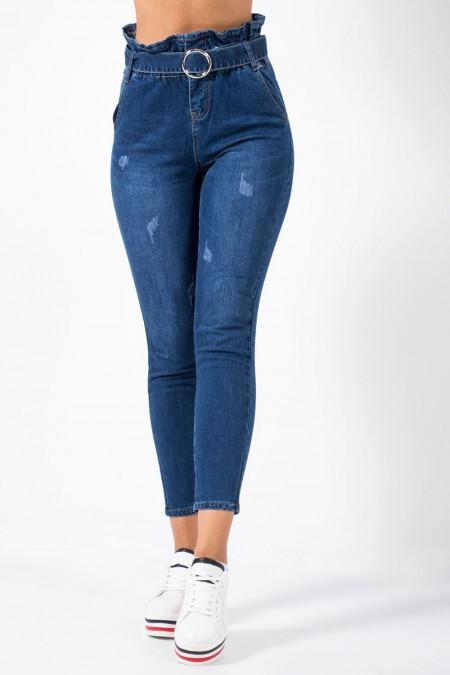 Denim Jeans with Belt
