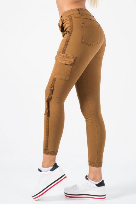 Military Trousers - Camel