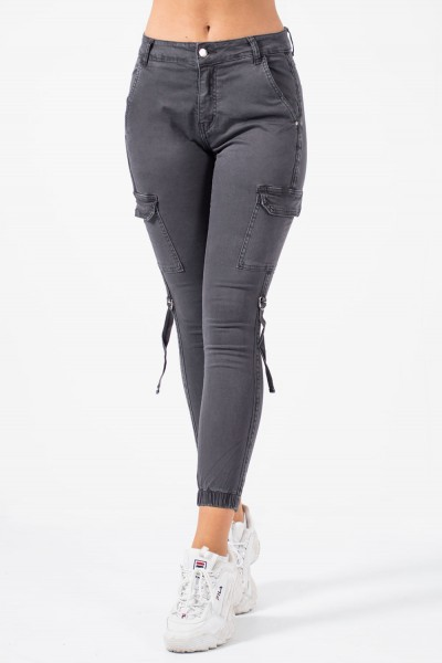 Military Trousers - Grey