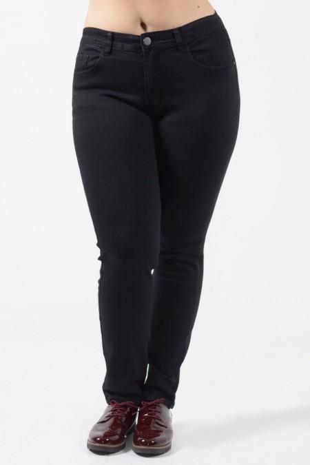 Παντελόνι Τζιν Plus Size - Μαύρο