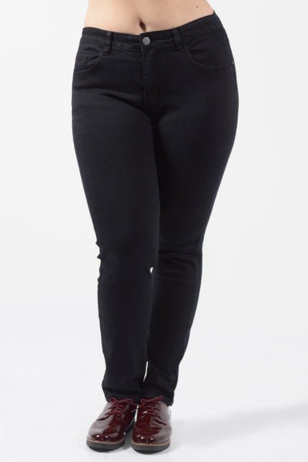 Jeans Plus Size - Black