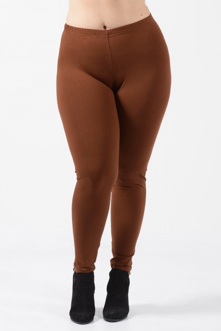 Leggings Plus Size - Rust