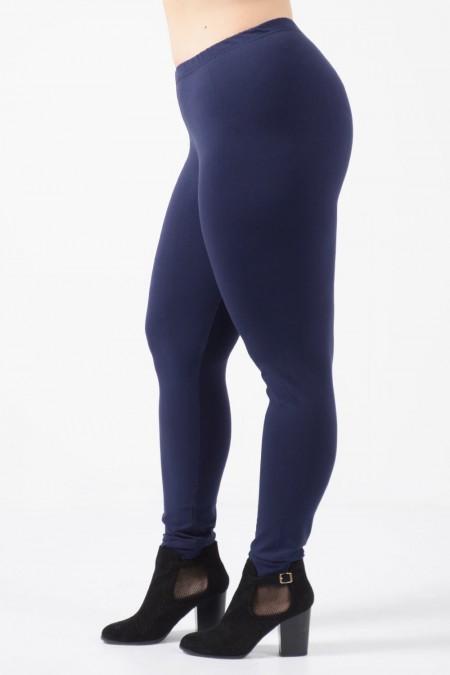 Leggings Plus Size - Dark Blue