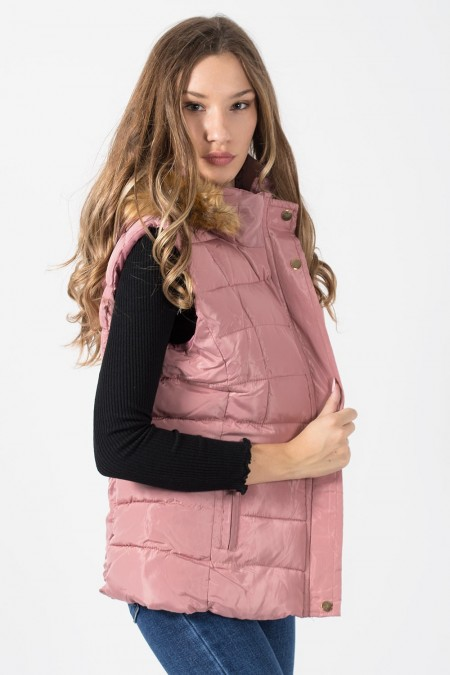 Jacket Sleeveless - Pink