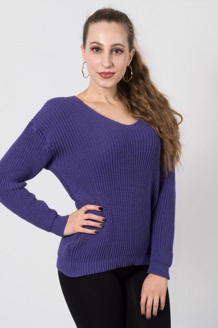 γυναικείο πουλόβερ μπλε