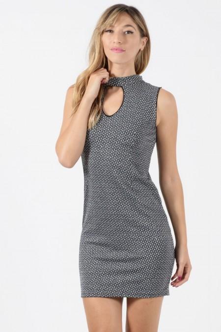 Φόρεμα Μίνι - Ασημί