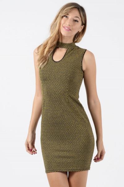 Φόρεμα Μίνι - Χρυσαφί