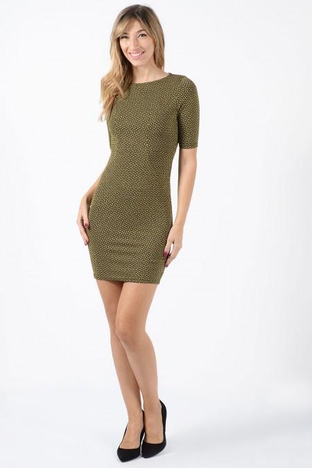 Mini Dress - Gold