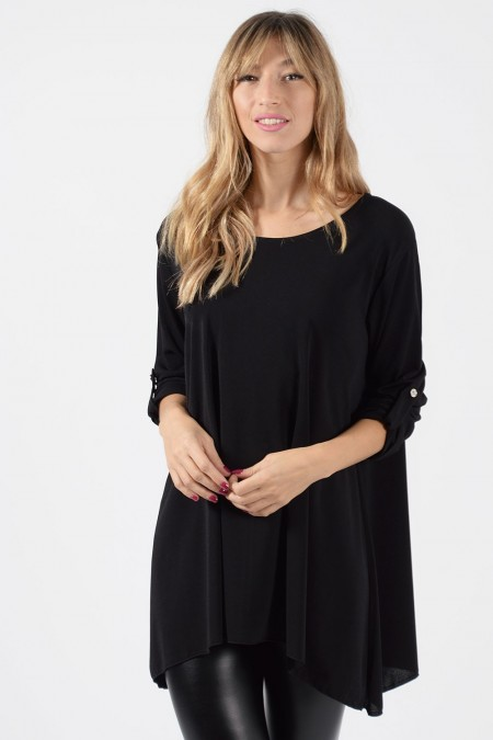 Oversized Blouse - Black