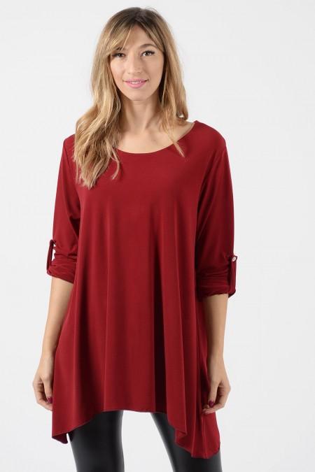Μπλούζα Φαρδιά - Κόκκινο