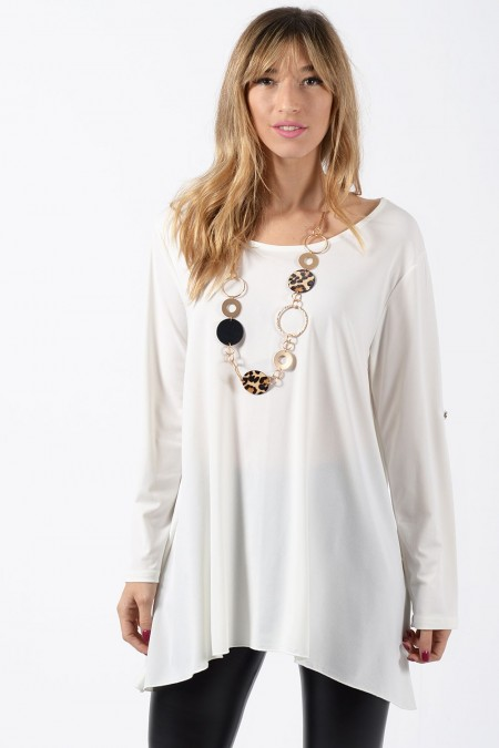 Oversized Blouse - White