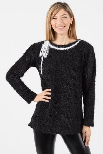 μπλουζα-κορδονι-λαιμος-μαύρο-1