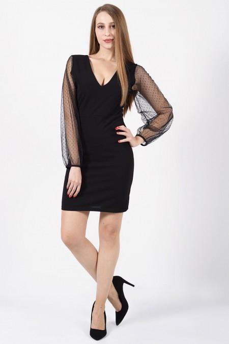 φορεμα- μανικια-τουλι-1