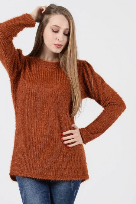Blouse A - Rust
