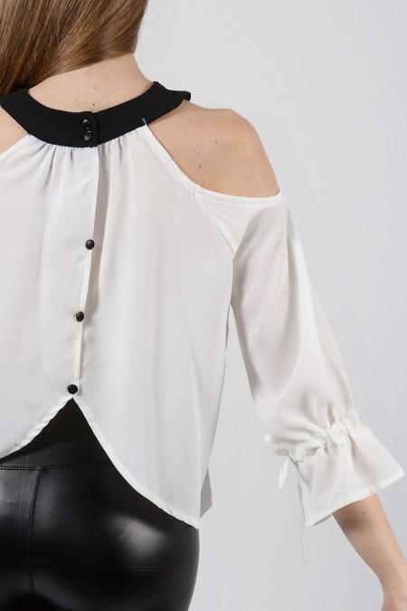 Μπλούζα Στάμπα - Λευκό