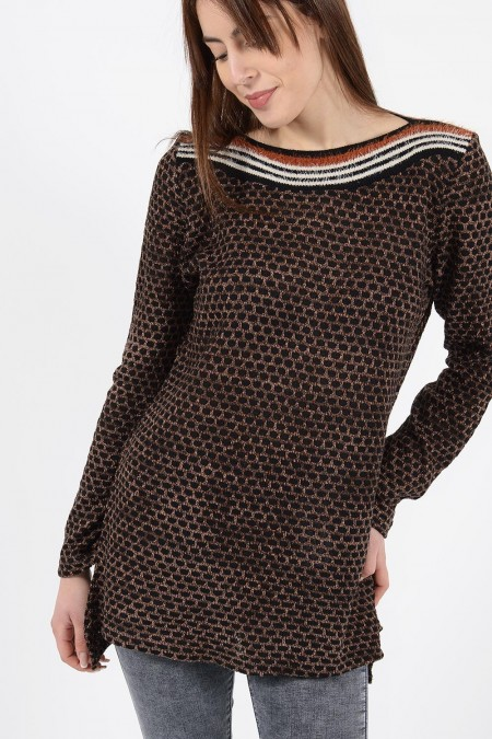 Knitted Top Honeycomb pattern