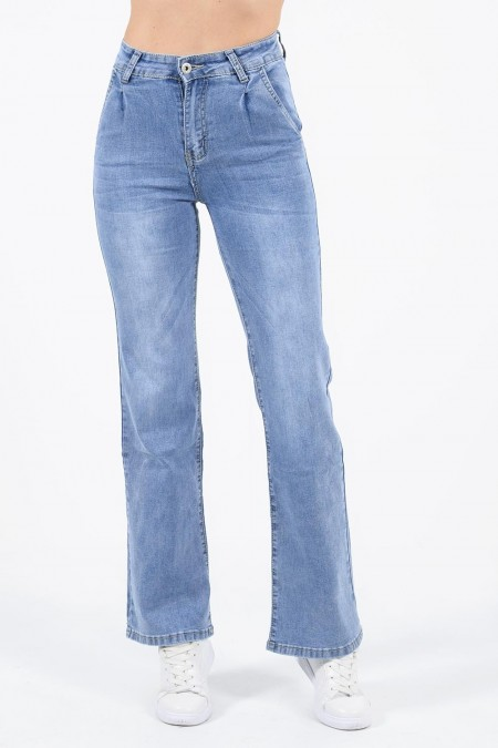 Straight Denim Jeans
