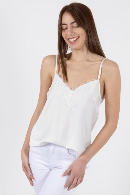 Lingerie Top - White