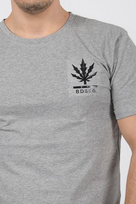 Κοντομάνικο T-shirt - Γκρι