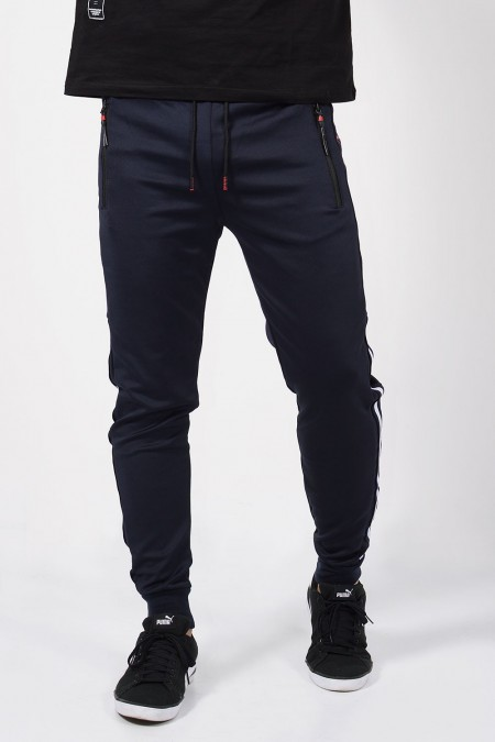 Sweatpants - Blue/Red