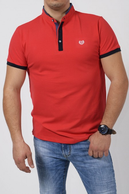 Men's Polo Blouse - Red