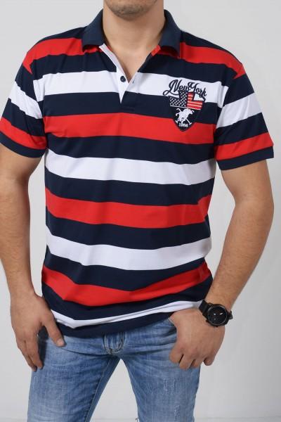 Ανδρική Μπλούζα Polo - Κόκκινο