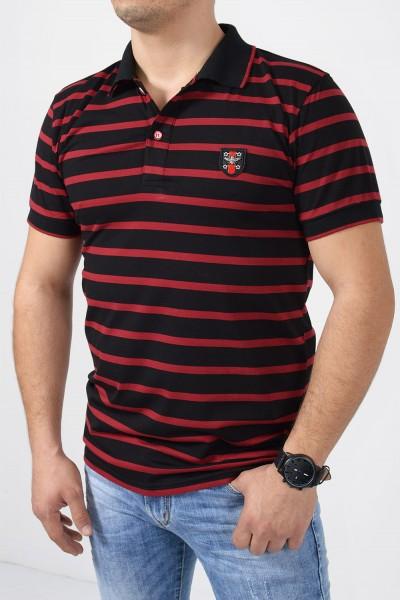 Ανδρική Μπλούζα Polo - Μαύρο
