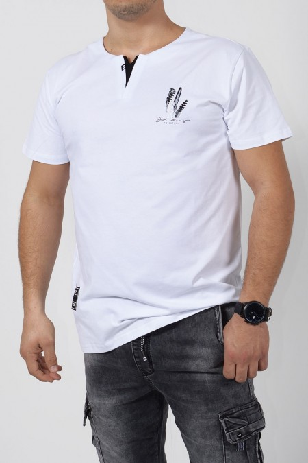 Printed T-Shirt - White