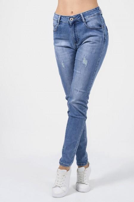 Denim Jeans Distressed