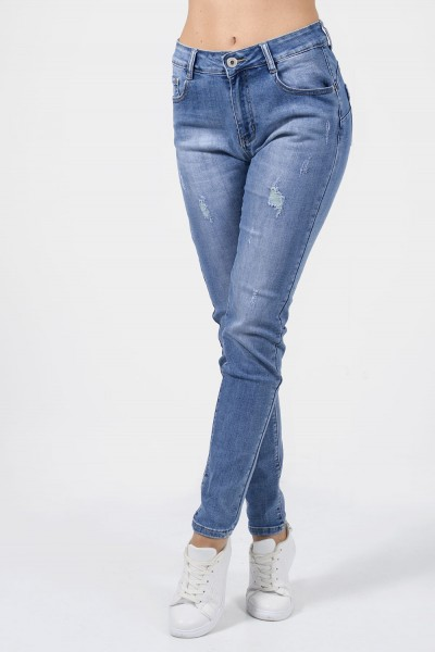 Παντελόνι Τζιν slim γυναικειο