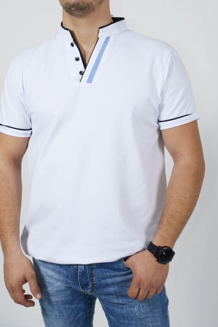 Men's Polo T-Shirt - White