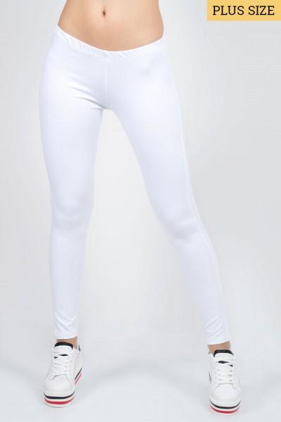 ΚΟΛΑΝ Plus Size Λευκό