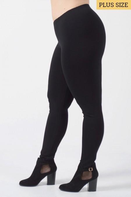 Leggings Plus Size - Black