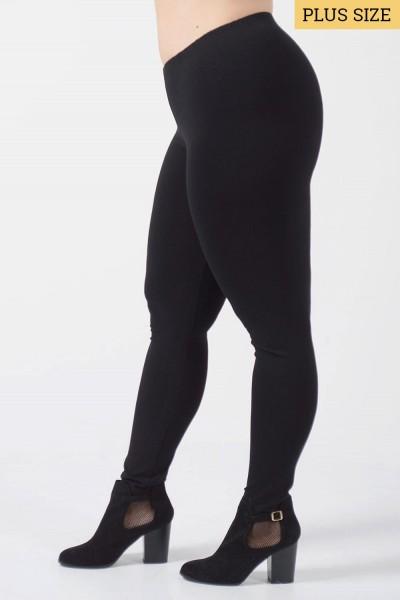 Κολάν Plus Size - Μαύρο