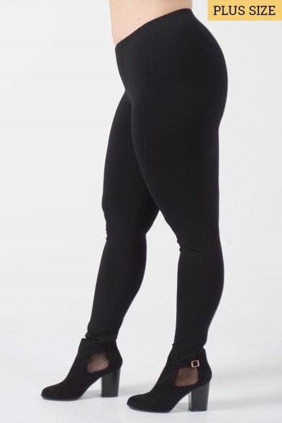 Leggings Plus Size - Black