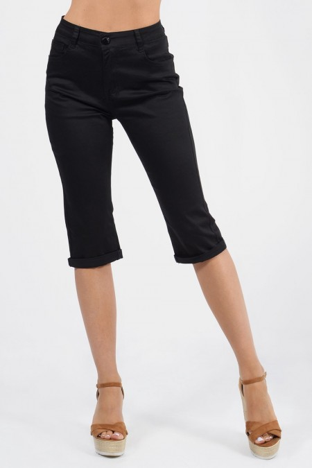 Capri Pants - Black