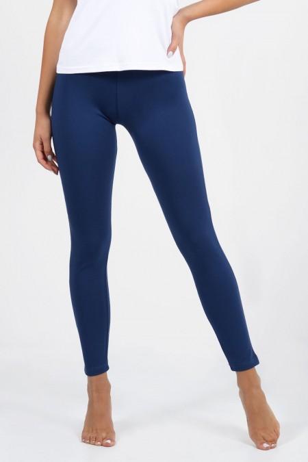 Plus Size Leggings - Blue