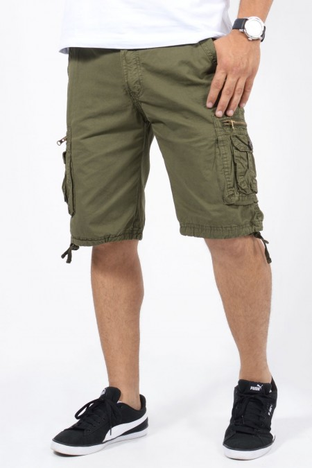 Military Shorts - Olive Green
