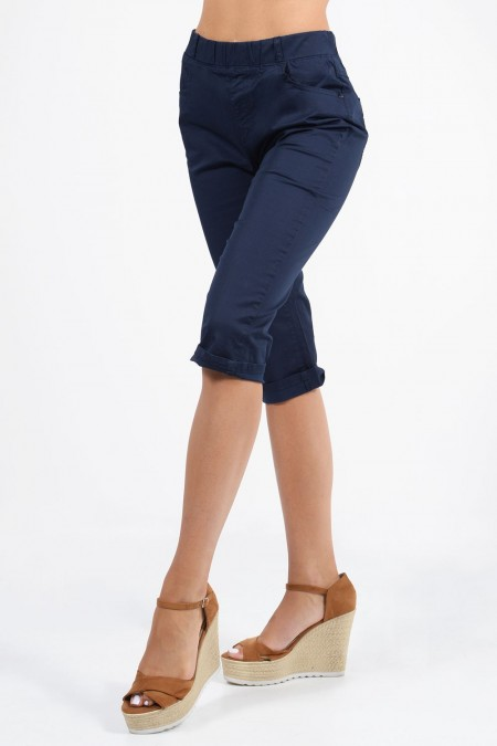 Capri Pants - Dark Blue