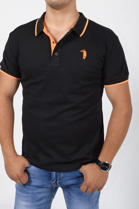 Men's Polo - Black