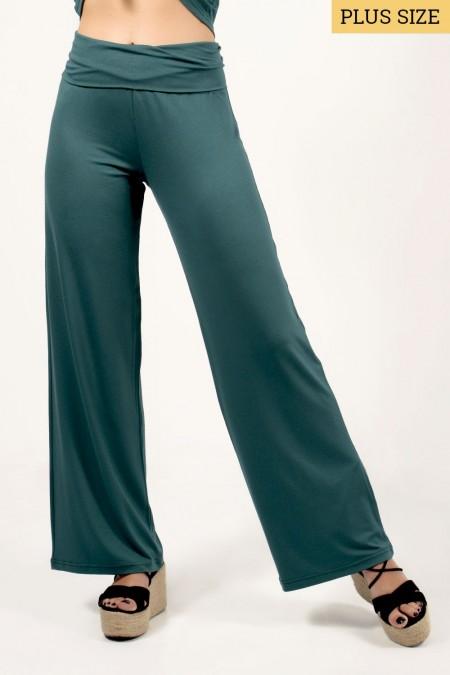 Wide Pants - Green