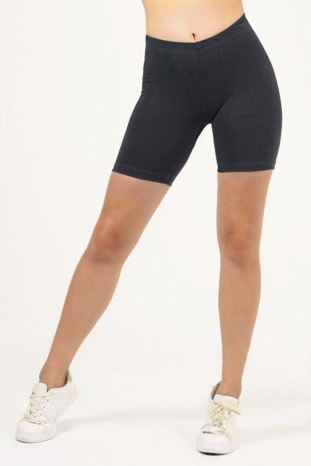 Short Leggings - Grey