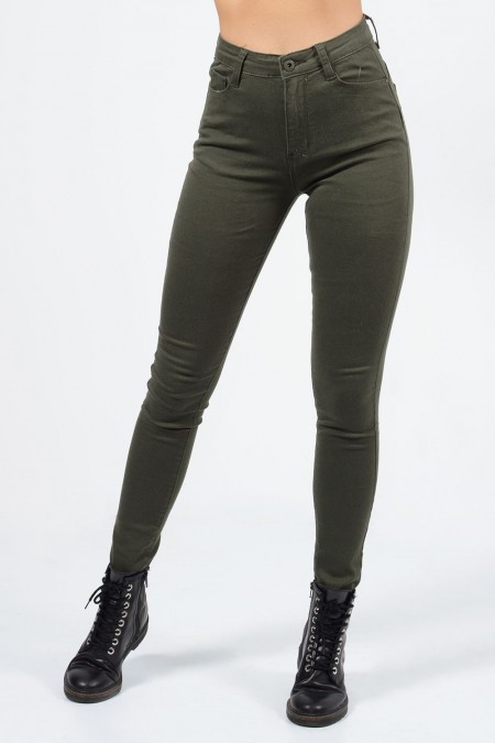 Jeans - Olive Green